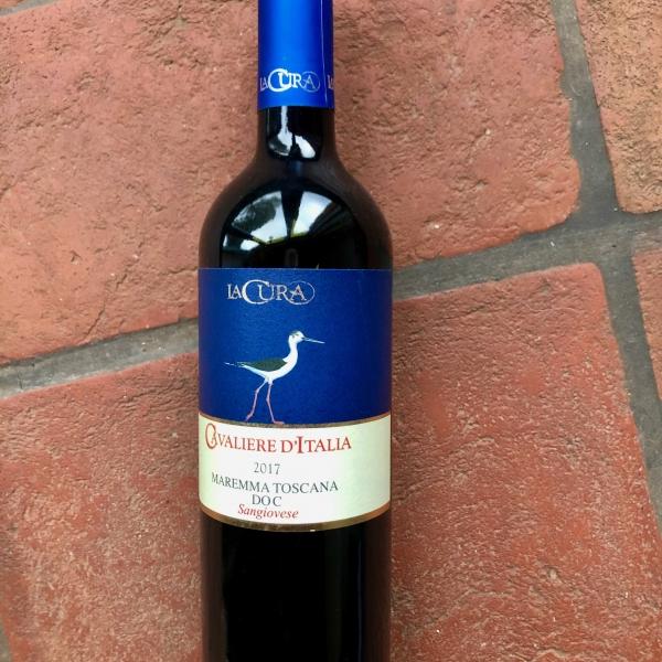 """Vino Rosso """"Cavaliere D`Italie"""""""