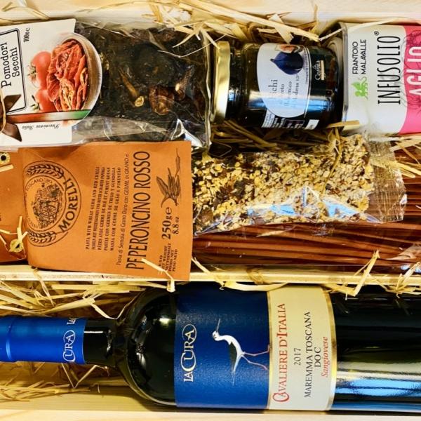 """italienische Geschenkbox """"Stella-Rosso"""""""
